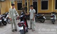 Trộm xe máy đem đến nhà nghỉ trả tiền phòng