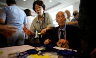 Các gia đình Hàn – Triều bị chia cắt được đoàn tụ