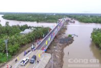 Cà Mau: Thông xe 2 cây cầu BOT trị giá gần 100 tỷ đồng