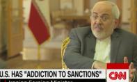 Ngoại trưởng Iran: Mỹ đang nghiện áp lệnh trừng phạt