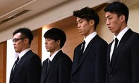 Bốn tuyển thủ bóng rổ Nhật cúi đầu xin lỗi vì scandal mua dâm