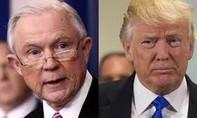 Trump và Bộ trưởng Tư pháp Jeff Sessions khẩu chiến