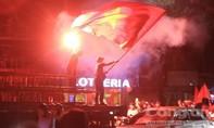 Xuyên đêm ăn mừng chiến thắng lịch sử của Olympic Việt Nam