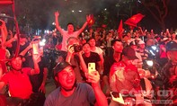 """Hà Nội huy động hơn 500 Cảnh sát chống """"bão"""", cổ vũ quá khích"""