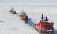 Băng tan, lần đầu tiên tàu chở hàng xuyên qua Bắc Băng Dương