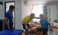 Trung vệ Đình Trọng có thể kịp hồi phục trước trận tứ kết
