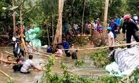Vỡ đê bao ở An Giang, hàng trăm héc-ta lúa bị nhấn chìm