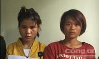 Hai cô gái xách 1kg ma túy đá qua biên giới