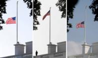 Ông Trump khiến nhiều cơ quan Mỹ bối rối trong việc hạ cờ tưởng niệm