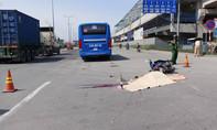 Một phụ nữ bị buýt cán tử vong trên xa lộ Hà Nội