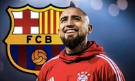 Barcelona thành công chiêu mộ Arturo Vidal