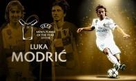 Modric vượt Ronaldo và Salah đoạt danh hiệu xuất sắc nhất UEFA