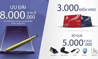 Nhận ngay ưu đãi 8 triệu khi mua Galaxy Note 9