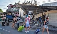 Hiện trường vụ động đất ở Indonesia khiến gần 100 người chết