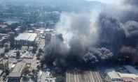 Nổ lớn gần sân bay Italia, hơn 70 người thương vong