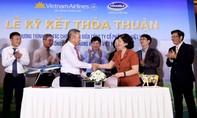 Vietnam Airlines và Vinamilk hợp tác phát triển thương hiệu vươn tầm quốc tế