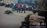 Hai người tử vong thương tâm dưới bánh xe tải