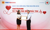 Nhân viên Vietbank hiến máu cứu người
