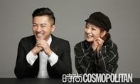 Tô Hữu Bằng và Triệu Vy kỷ niệm 20 năm tình bạn trên tạp chí