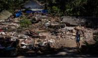 Lại động đất ở đảo du lịch Indonesia khiến nhiều toà nhà đổ sập