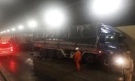 Tai nạn nghiêm trọng trong hầm Hải Vân, ùn tắc kéo dài
