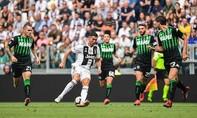 Ronaldo nổ súng, Juventus hạ Sassuolo