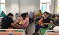 Số trẻ em mắc bệnh tay chân miệng ở Quảng Ngãi tăng cao