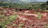 Sụt lún nghiêm trọng tại hầm vàng trái phép
