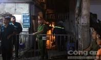 Tìm thấy hai thi thể trong đám cháy gần BV Nhi Trung ương