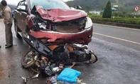 Điều tra vụ tai nạn làm 2 người chết liên quan đến một đại úy CSGT