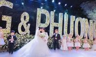 Trường Giang - Nhã Phương hôn nhau thắm thiết trong tiệc cưới