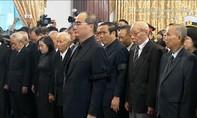 Lễ viếng Chủ tịch nước Trần Đại Quang tại TP.HCM