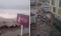 Clip sóng thần sau trận động đất 7,5 độ richter ở Indonesia
