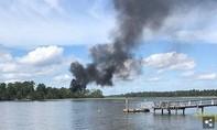 Tiêm kích hơn 100 triệu USD của Mỹ rơi, phi công may mắn thoát nạn