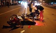 """Hai xe máy """"đối đầu"""", một thanh niên tử vong"""