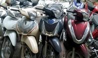 Công an quận 4 tìm chủ sở hữu 20 xe gắn máy
