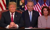 Trump rời khỏi cuộc họp với đảng Dân chủ vì bất đồng