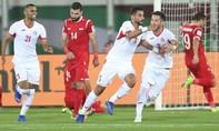 Jordan giành vé đầu tiên vào vòng 1/8 sau khi đánh bại Syria