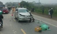Ô tô tông trực diện xe máy, hai người tử vong tại chỗ