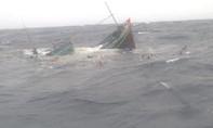 Tàu câu mực bị tông chìm trên biển, mẹ tử vong, con mất tích