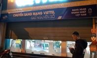 Truy bắt kẻ bịt mặt cướp tiền tại cửa hàng Viettel