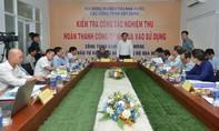 Diễn tập PCCC và nghiệm thu hầm đường bộ đèo Cù Mông