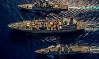 Anh – Mỹ kết thúc 6 ngày tập trận chung trên Biển Đông