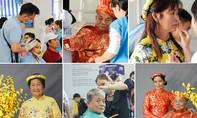 Bệnh nhân được làm đẹp, chụp hình đón Tết trong bệnh viện