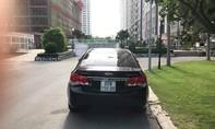 Chiếc xe hơi mất ở Đồng Nai, đậu ven đường ở Bình Dương