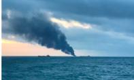Hai tàu phát hoả trên Biển Đen, nhiều người thương vong