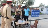 Sáu lái xe dương tính với ma túy ở Nghệ An