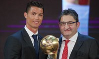 Ronaldo nhận giải Cầu thủ bóng đá hay nhất toàn cầu