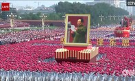 Trung Quốc duyệt binh rầm rộ mừng 70 năm ngày Quốc khánh