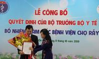 Bác sĩ Nguyễn Tri Thức làm Giám đốc Bệnh viện Chợ Rẫy